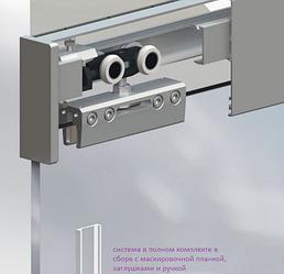 Раздвижная система HERKULES GLASS  полотно до 100 кг