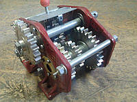 Механизм передач к сеялке СЗ-3,6   108.00.2020А-02 лев.(2020Б-07-2Т) (шестерни каленные)