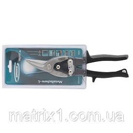 """Ножиці по металу """"PIRANHA"""",250мм,прямий і лівий рез,сталь-СгМо,двухкомп.рук-ки// GROSS"""