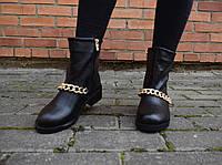 Ботинки женские высокие демисезонные