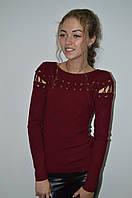 Молодежная кофта  со шнуровкой на плечах Турция, фото 1