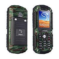 Защищенный телефон Sigma mobile X-treme IT67 Dual SIM Khaki 1700 мАч