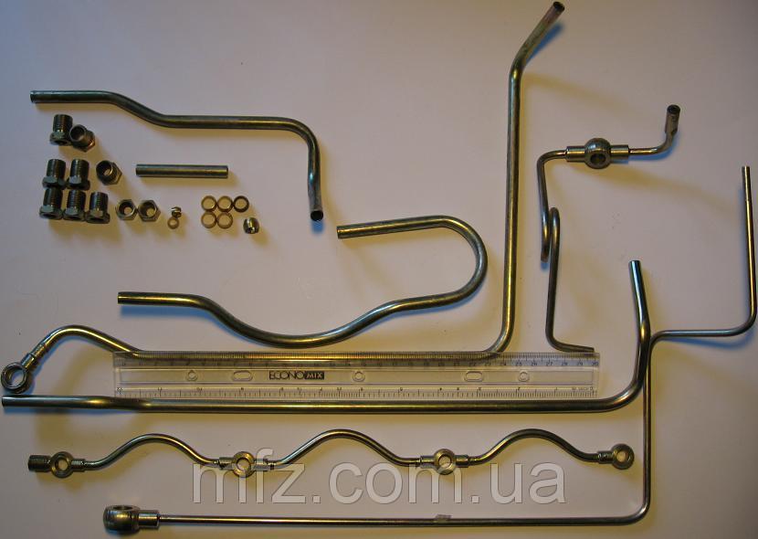 Трубки низкого давления на двигатель Д3900 (комплект)