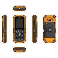 Защищенный телефон Sigma mobile X-treme IT67 Dual SIM Orange 1700 мАч