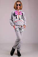 Детский трикотажный костюм Мини Маус для девочки