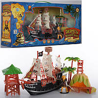 Игровой набор «Пираты Черного моря» M 0513 U/R LimoToy