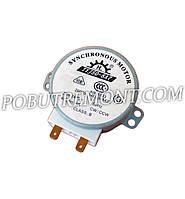 Моторчик микроволновой печи 220V, 4W, 3-5 об/мин