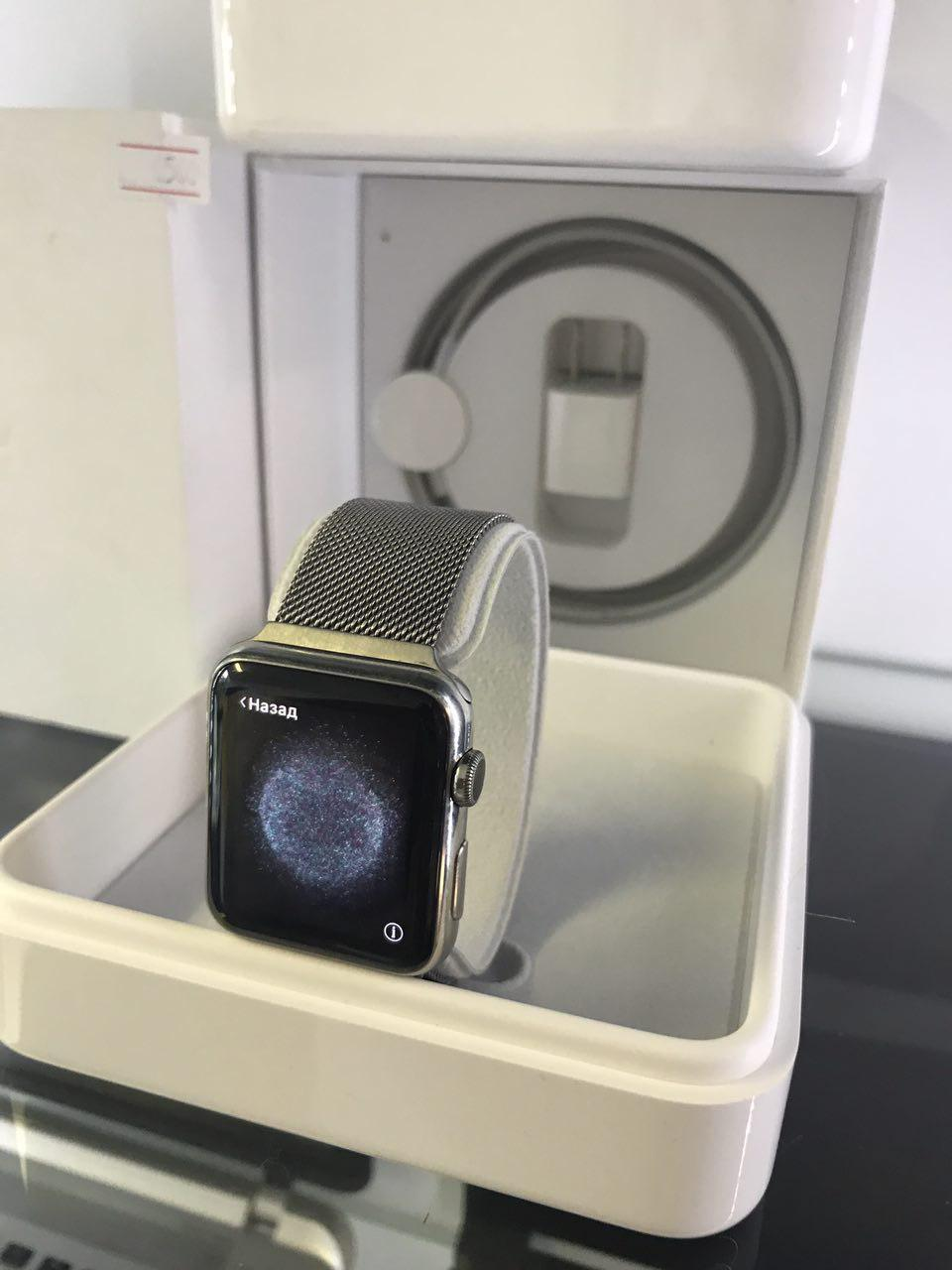 "Watch Apple Watch 42mm Stainless Steel Case  Classic - Интернет магазин ""iMobilko"" в Киеве"
