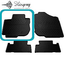 Toyota RAV 4 2006-2013 Водительский коврик Черный в салон