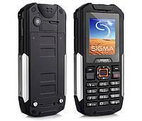 Защищенный телефон Sigma mobile X-treme IT68 Dual SIM Black 2800 мАч