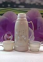 Термос  двумя чашками Fissman 1000 мл , фото 1