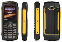 Защищенный телефон Sigma mobile X-treme PQ68 Dual SIM Black/Yellow 2000 мАч