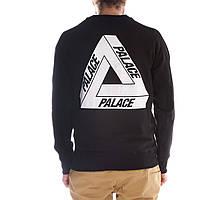 Свитшот чёрный Palace | Кофта стильная