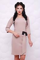 Платье Лука бежевый, фото 1