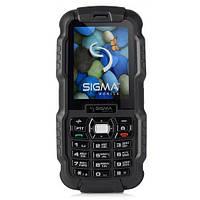 Защищенный телефон Sigma mobile X-treme DZ67 Travel Black 1700 мАч