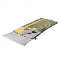 Спальный мешок-одеяло КЕМПИНГ Ай-петри с подголовником, фото 1