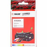 Картридж струйный BASF для HP DJ 850C/1100C/1600C аналог HP 45 Black (BASF-KJ-51645A)