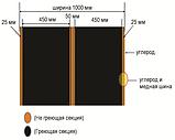 Инфракрасная премиум плёнка Heat Plus APH-410-400 Sauna (ширина 1 м), фото 4
