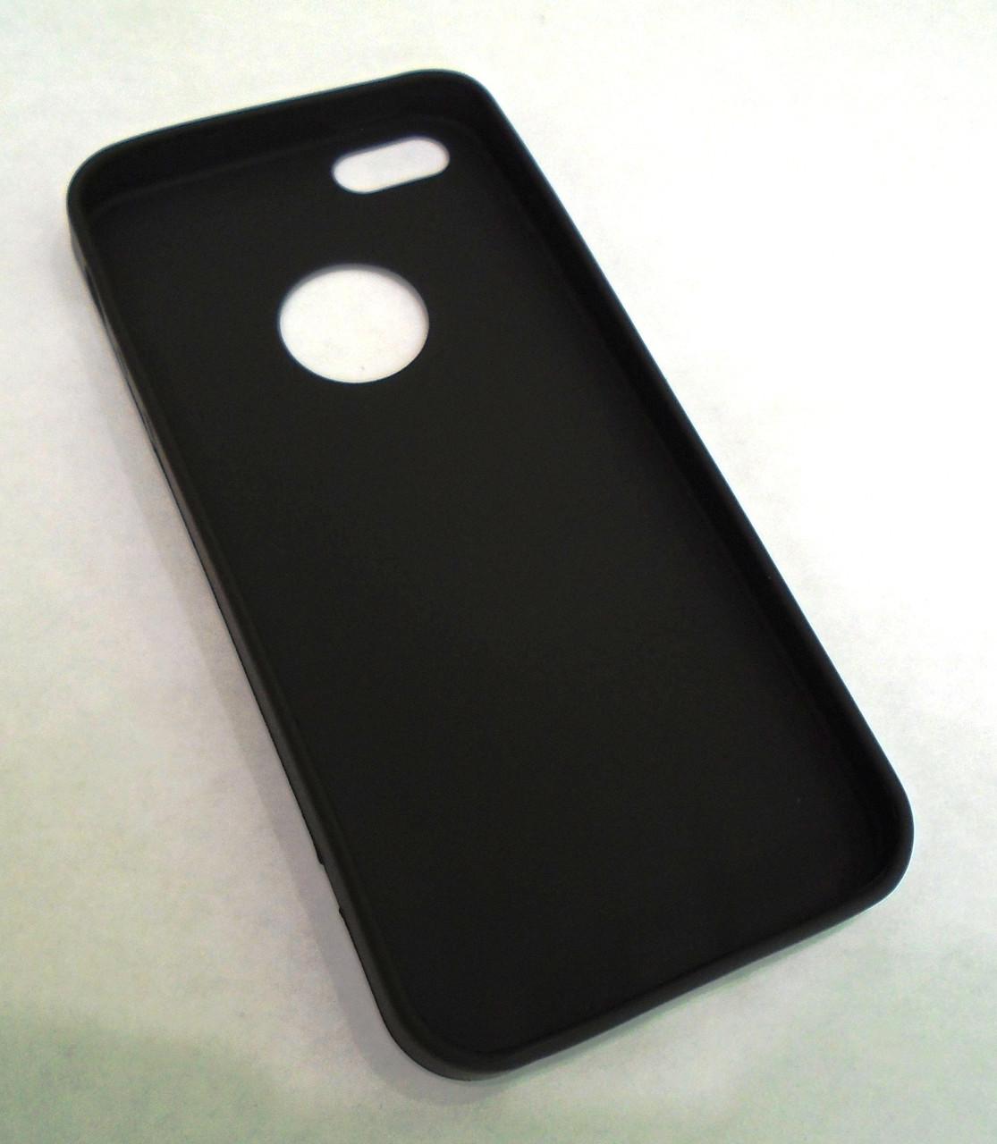 Матовый Чехол бампер softcase iphone 5 5s 5g
