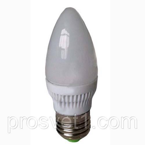 LED лампа свеча E27 4.2W Lemanso C37