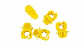 Фиксатор (защёлка, зажим, крепление) стойки (штанги, палки, подстаки) держателя капота GM 1180046 1180021 1336