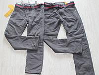 Детские теплые штаны с начесом для мальчика