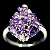 Аметист, серебро 925, кольцо, 650КА