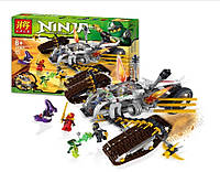 """Конструктор Lele Ninja 31041 (аналог Lego Ninjago 9449) """"Сверхзвуковой самолет"""", 645 деталей"""