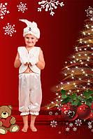 Карнавальный костюм  Зайчик белый, фото 1