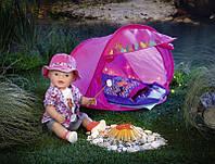 Набор для похода Baby Born 823743 Палатка для куклы беби борн