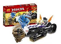 "Конструктор Lele 31046 Ninja (аналог Lego Ninjago 2263) ""Турбо Шредер"" 307 дет"