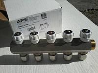 Гребінка колекторна APE 3/4×16 (2) 5 виходів