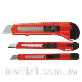 Набор ножей,  выдвижные лезвия, 9-9-18 мм, 3 шт.// MTX