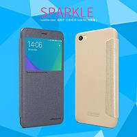Кожаный чехол Nillkin Sparkle на Xiaomi RedMi Note 5A (2 цвета), фото 1