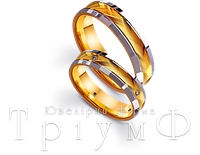 Обручальные кольца из золота 4421687 и 4411687