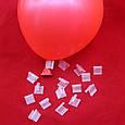 Затискачі кліп для герметизації повітряних кульок 10 шт, фото 3
