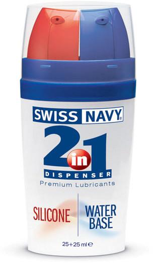 Интимный лубрикант 2 в 1 Swiss Navy Silicone/Water Based  MD Science