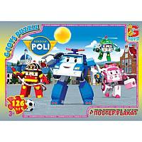 Пазлы из серии «Робокар Полли» RR067440 G-Toys, 126 элементов