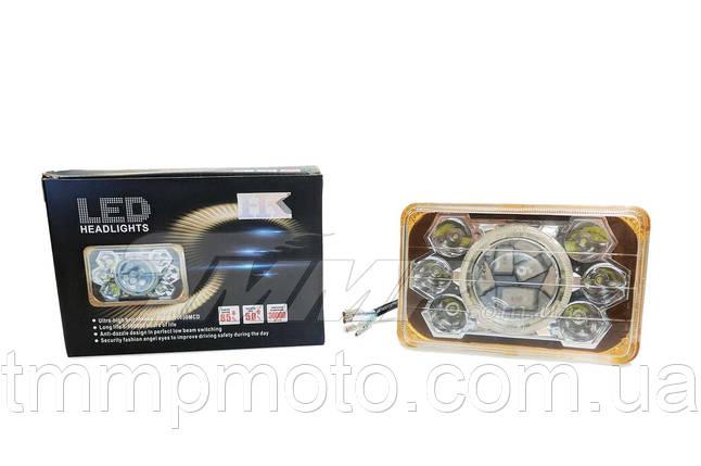 Вставка в фару d=16cm 21W LED  (8 лампочек,дальний, ближний), фото 2