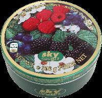 Леденцы карамельные, лесные ягоды SKY CANDY - Berry Candies, 200г
