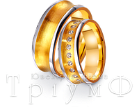 Обручальные кольца из золота 4421676 и 4411676