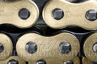 Цепь привода колеса  428*116L  O-Ring Golden   TMMP, фото 2