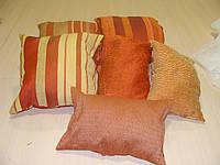 Комплект подушек  Терракот и беж , 6шт , фото 1