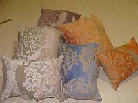 Комплект подушек розовые сиреневые персик , 6шт, фото 1