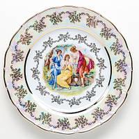 Набор тарелок Мадонна 6 шт 24.5 см   + салфетница  + солонка