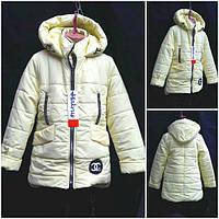 Демисезонная куртка для девочек, разные цвета, рост 128-152 см