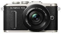 Цифровая фотокамера Olympus E-PL8 14-42 mm Pancake Zoom Kit Black/Black