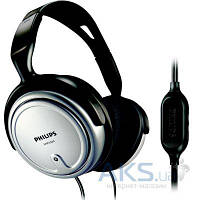 Наушники (гарнитура) Philips SHP2500 Black/Silver, фото 1
