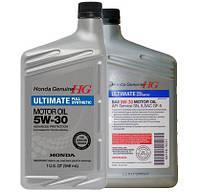 Синтетическое моторное масло HONDA 5W-30 Ultimate Full Synthetic