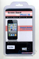 Защитная пленка ScreenGuard Apple iPhone 4, iPhone 4S Clear